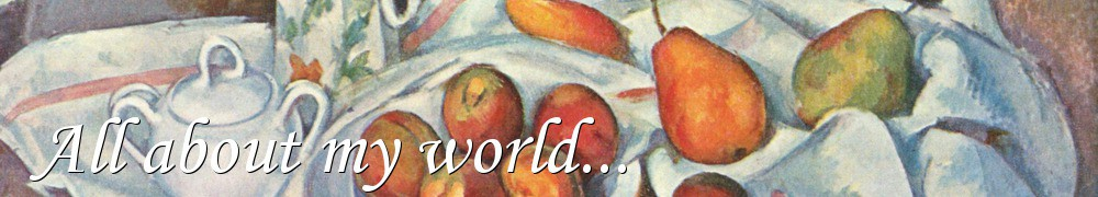 Very Good Recipes - All about my world...