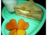 Mint Chutney Sandwich - Kids Evening Snack Combo