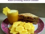 Soya Nuggets/vadam Sandwich - Kids Evening Snack Combo