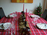 A Kenyan Inspired Christmas Table Setting + Spiced Chai Cupcake Recipe