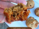 {10 Minute} Blender Mini Muffins