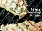 24 Hour Greek Chicken Marinade