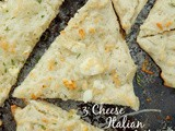 3 Cheese Italian Flatbread + Krusteaz Giveaway