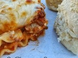 3 Cheese Sausage Lasagna
