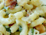 4 State Cheddar Mac and Cheese with Kale and Bacon