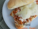 Baked Chicken Parm Subs