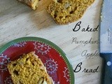 Baked Pumpkin Apple Bread
