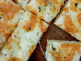 Beer Bread Garlic Cheese Sticks