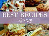Best Recipes of 2015 + Celebrating 6 Years of Food Blogging