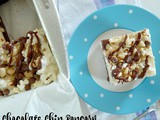 Chocolate Chip Popcorn Buster Bars