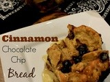 Cinnamon Chocolate Chip Bread Pudding + a Giveaway