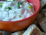 Dried Beef & Green Onion Bagel Dip