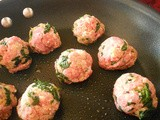 Florentine Meatball Sliders