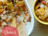 Italian Chicken & Spinach Bake