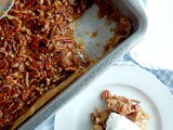 Maple Pecan Pie Cobbler