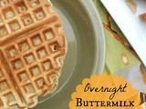 Overnight Buttermilk Cornbread Waffles