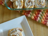 Pumpkin Cinnamon Rolls {no yeast required}