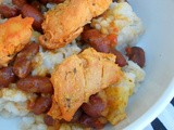 Red Beans & Rice with Grilled Chicken