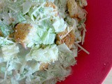Short Cut Chopped Caesar Salad