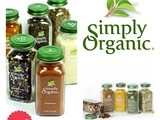 Simply Organic Full Set of New Spices Giveaway