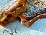 Stuffed Strawberry Cheesecake Baked French Toast