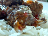 Sweet Thai Chili Meatballs + Stubb's Bar-b-q Giveaway