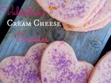 Valentine Cream Cheese Cookies