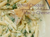 White Cheddar Spinach & Artichoke Mac-n-Cheese