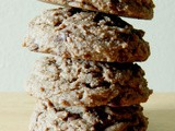 Whole Wheat Chocolate Peanut Butter Cookies