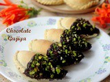 Baked Chocolate Gujiya