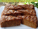 Carrot Spice Cake – Wholegrain and Vegan