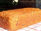 Cranberry Orange Bread ( almost a cake) Egg less