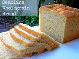 Semolina Wholegrain Bread | Atta Sooji Bread