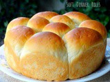 Super Soft Dinner Rolls and Whole Wheat Dinner Rolls