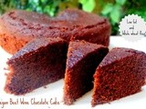 Vegan Beet Wine Chocolate Cake (Whole Wheat) | Vegan Baking