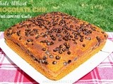 Whole Wheat Chocolate Chip Cinnamon Cake
