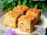 Apple Cake (With Whole Wheat flour)