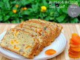 Apricot Walnut Tea Loaf – Low Calorie, Wholegrain and Egg less