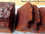 Banana Chocolate Bread (Egg less)