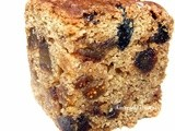 Buttermilk fruit and spice cake - whole wheat and eggless