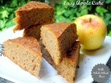 Easy Apple Cake (With Whole Wheat Flour)
