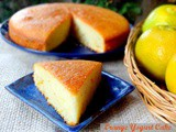 Low Fat Orange Yogurt Cake