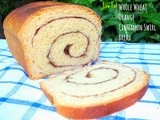 Low Fat Whole Wheat Orange Cinnamon Swirl Bread