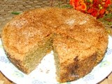 Low Fat Whole Wheat Vegan Coconut Cake