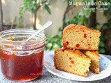 Marmalade Cake - Wholegrain and Egg less