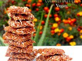 Nariyal Chikki | Coconut Brittle (Vegan)