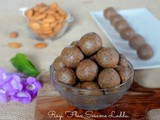 Ragi Flax and Sesame Laddu