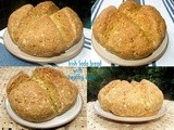 Two Grain Irish Soda Bread With a Medley of Seeds - Healthy, Hearty and Filling