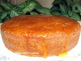 Whole wheat orange yogurt cake