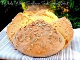 Whole Wheat Sunflower Seed Soda Bread
